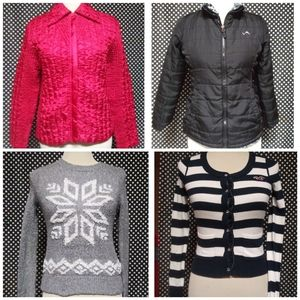 Hollister/pink Clothing Lot small